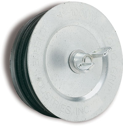 galvanized steel wing nut plugs