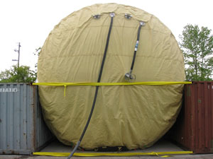 Inflatable Tunnel Seal