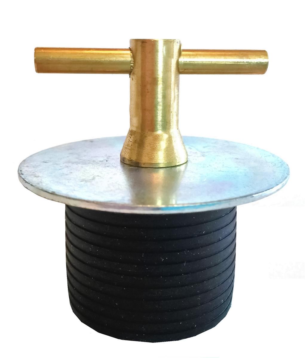 Pipe Plug Mechanical T Handle Rubber 2 7 8 Quot Dia